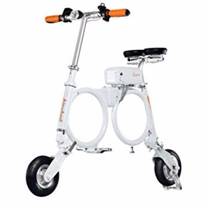 Airwheel E3 Electric Scooter for Commute Folding e-Bike with Carrying Luggage Review - B01MXF4N9T