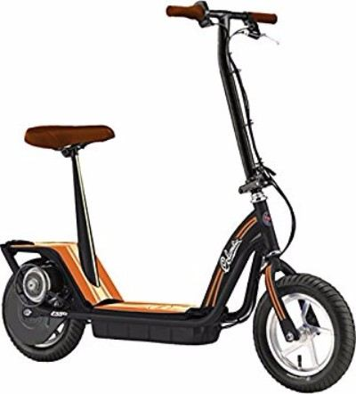 Columbia TX-450 Black Seated Electric Scooter