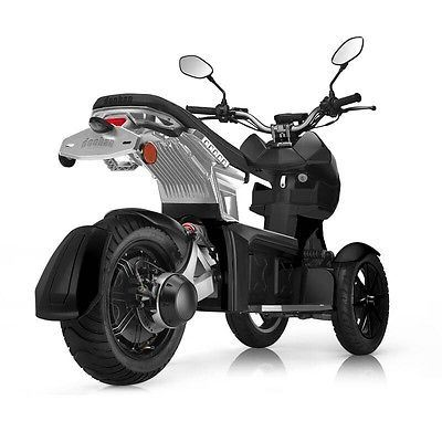 Doohan EV3 iTank 2.0 3-Wheel Luxury Electric Scooter Review