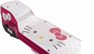 Hello Kitty Su Electric Scooter Review Electric Scooter Critic