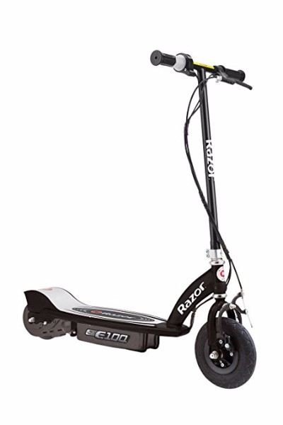 10. Razor E100 Black Motorized Electric Scooter