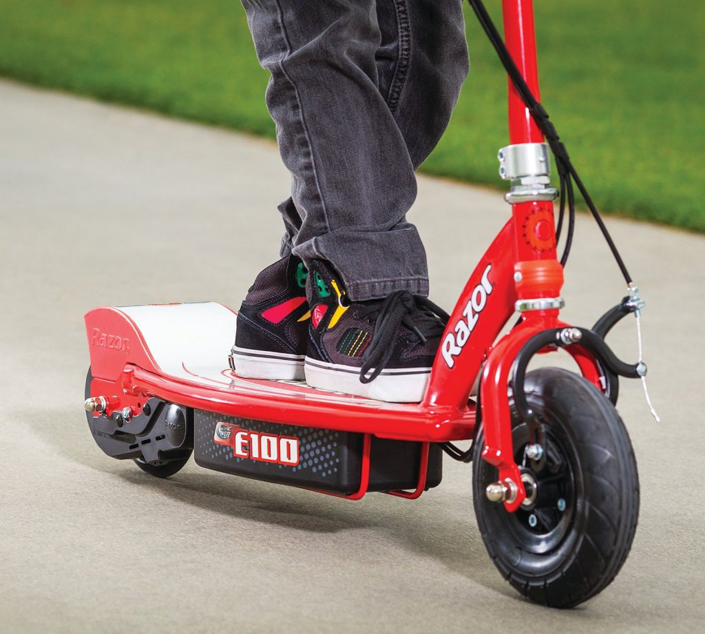 Razor E100 Electric Scooter Review Image 4
