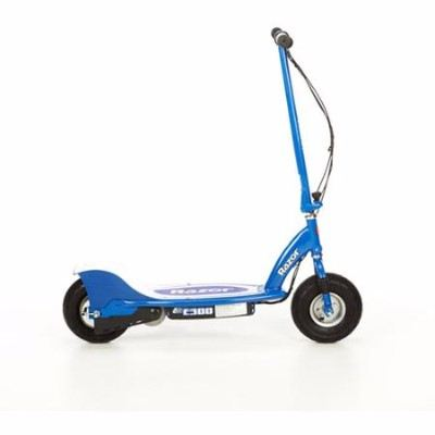 Razor E300 Blue 24 Volt Motorized Kids Electric Scooter Review - 13113640