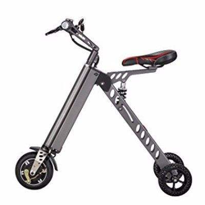 4. TopMate Foldable Mini Electric Tricycle