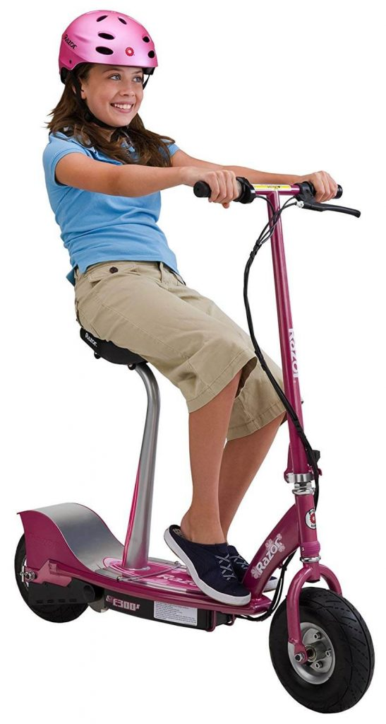 razzor e300s seated electric scooter review image 6