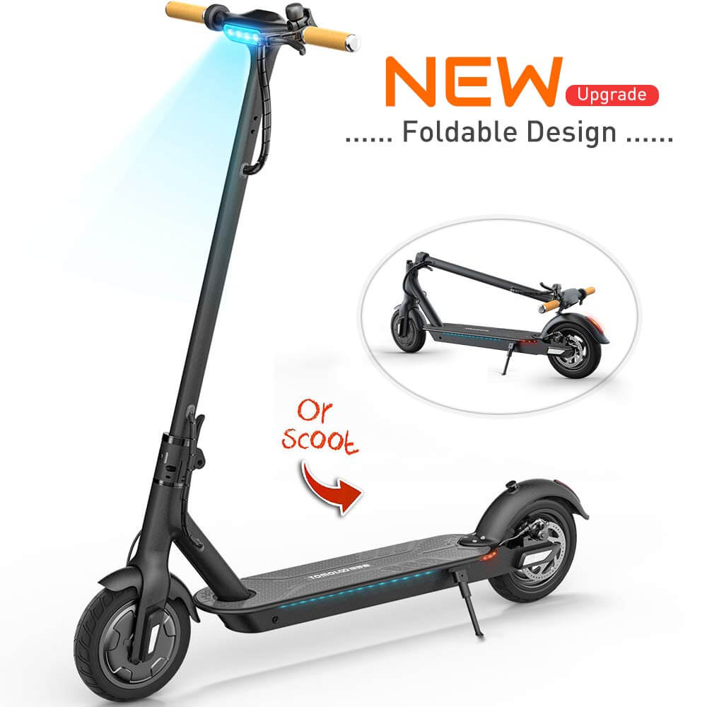 5. TOMOLOO Long Range Foldable E-Scooter