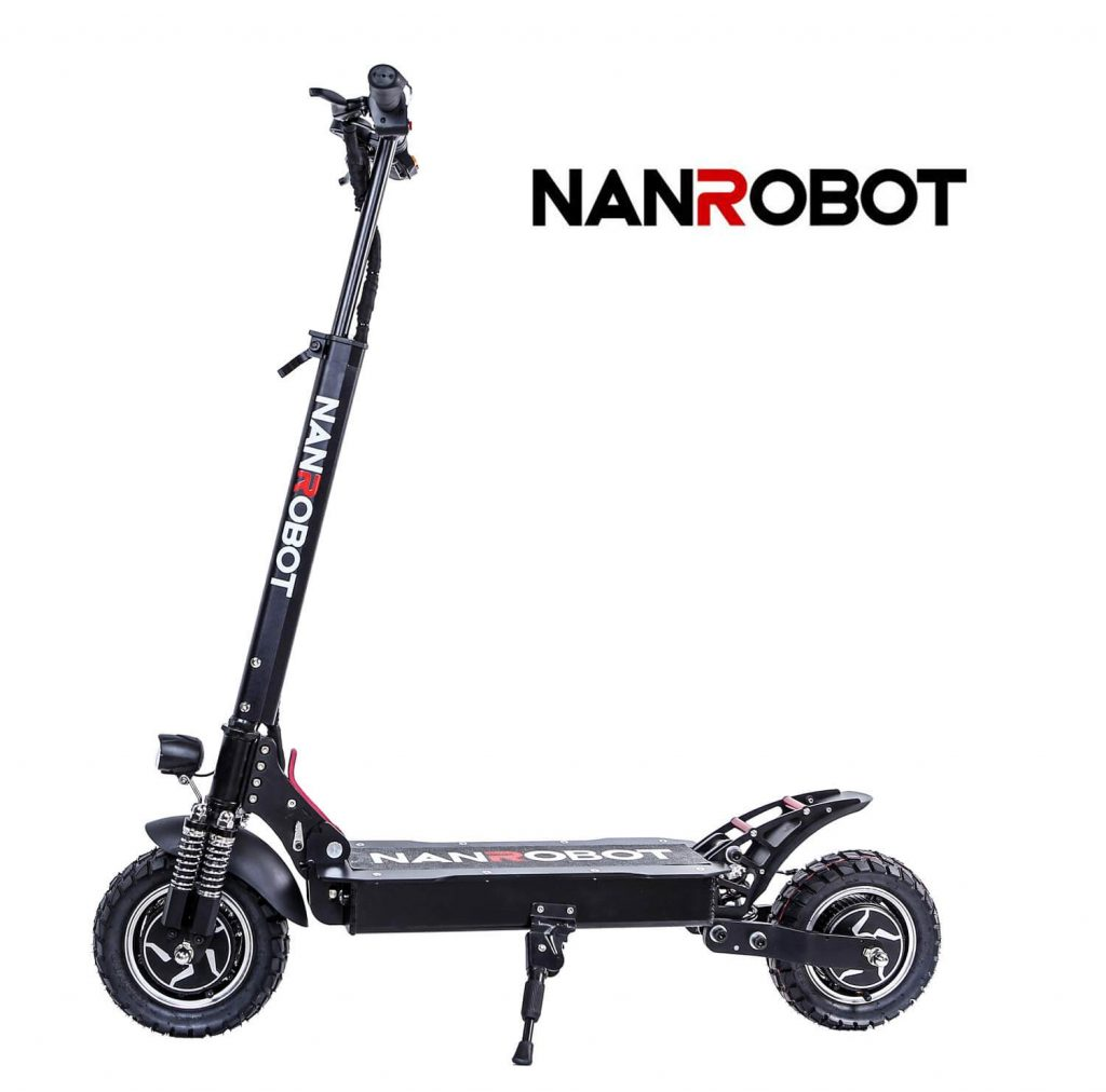 NANROBOT D4+ Electric Scooter Image 1