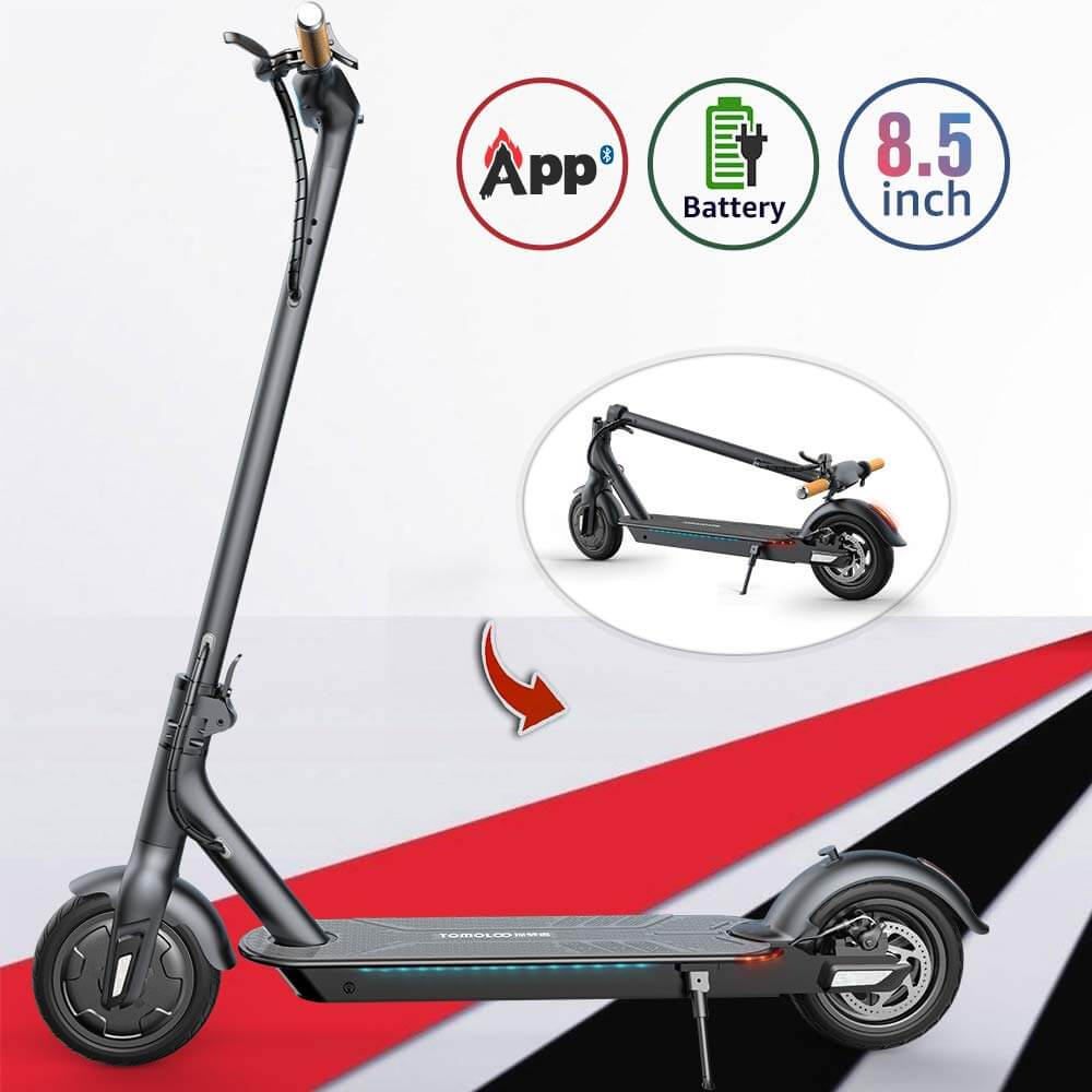 tomoloo electric scooter review image 2